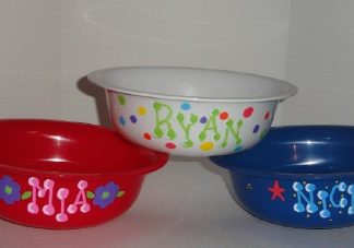 Kids Personalized Snack or Cereal Bowl